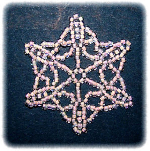 Beaded Snowflake Patterns