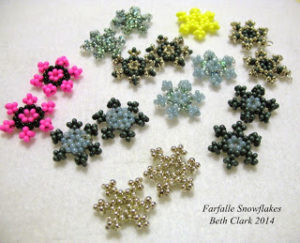 Beaded Snowflake Patterns Free