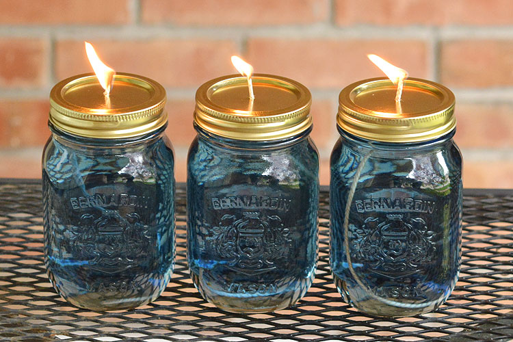 Candle Mason Jar Ideas DIY