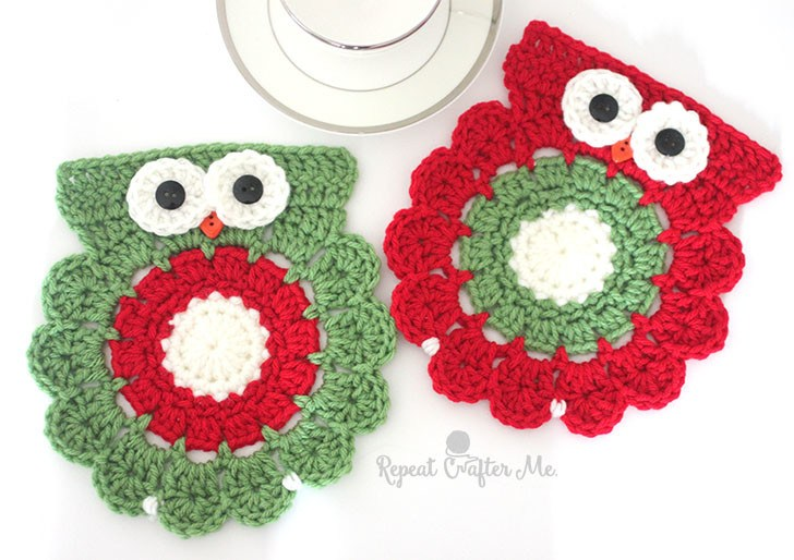 Christmas Coaster Crochet Pattern Free