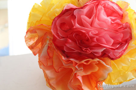Coffee Filter Flower Images