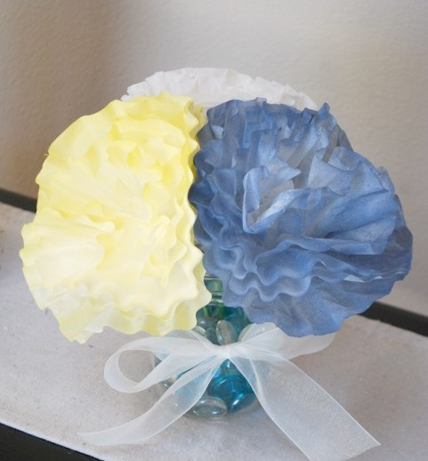 Coffee Filter Flower Project