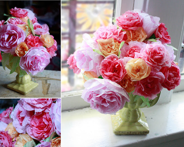 Coffee Filter Flowers Directions