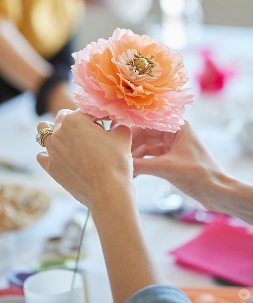 Crepe Paper Flowers Images