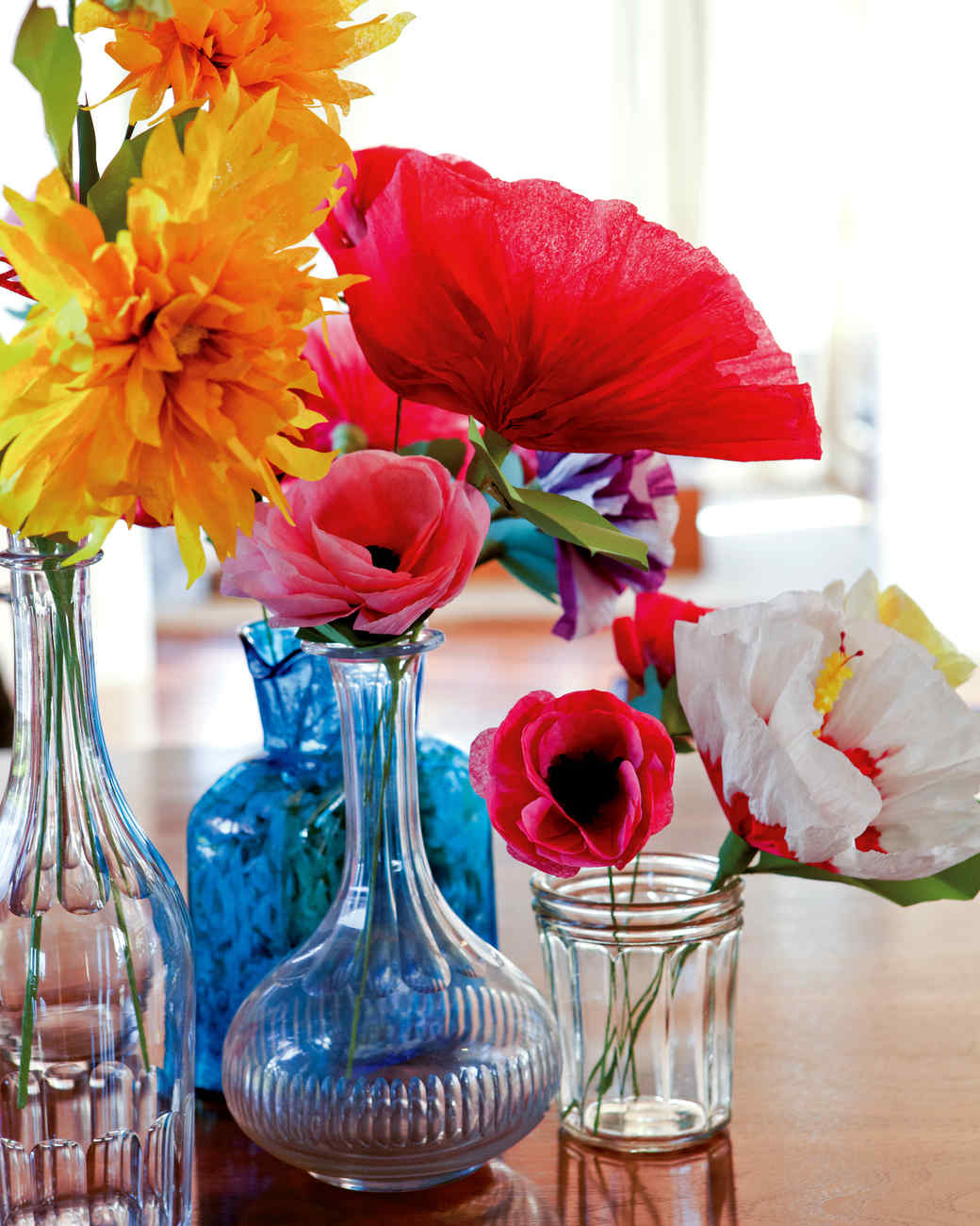 33 Diy Crepe Paper Flowers Tutorials