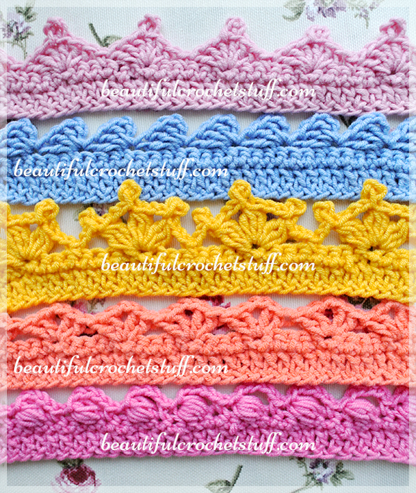 Crochet Border Designs
