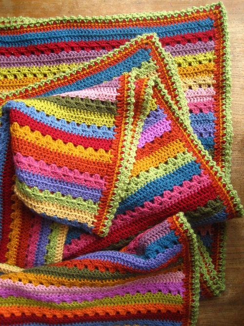Crochet Border on Blanket