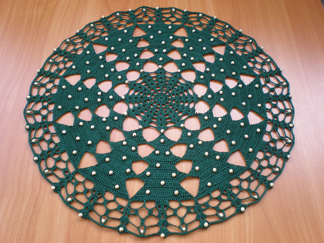 Crochet Christmas Tablecloth Patterns