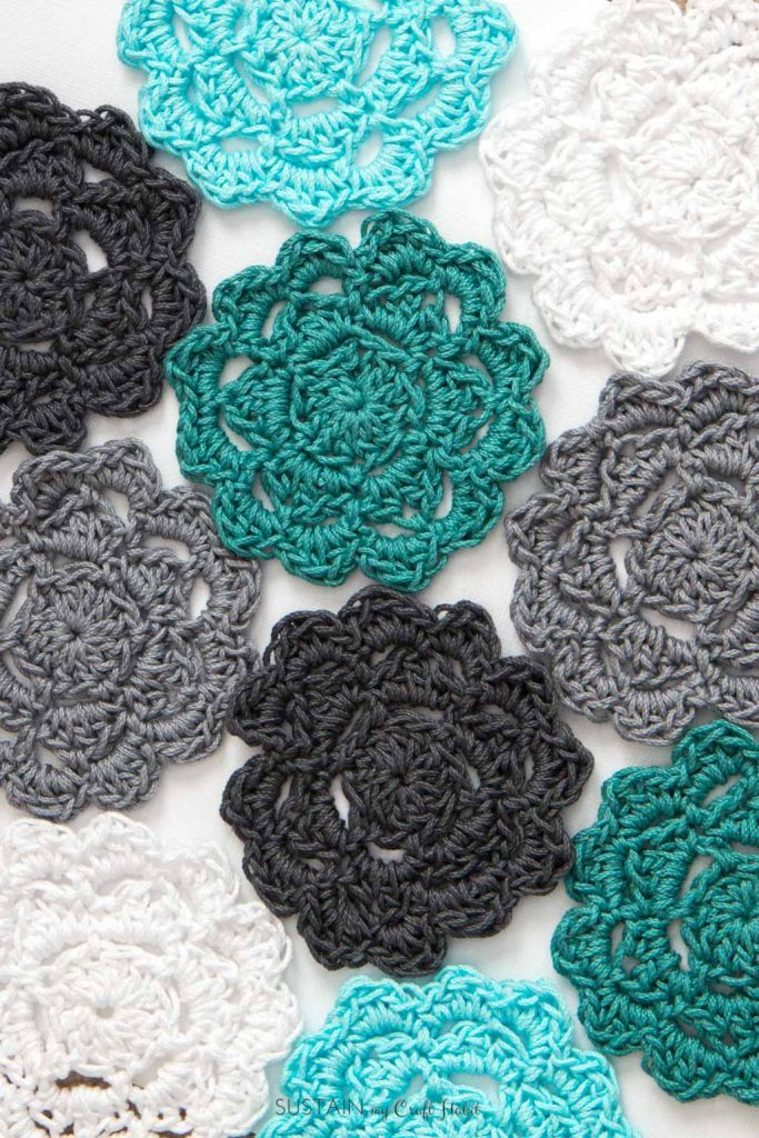 Crochet Coaster Ideas Designs