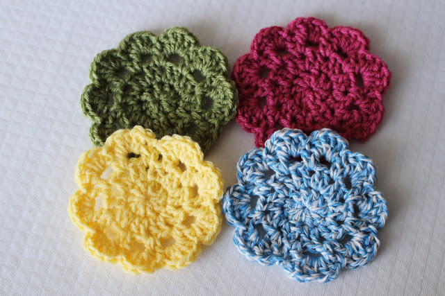 Crochet Coaster Patterns Instructions