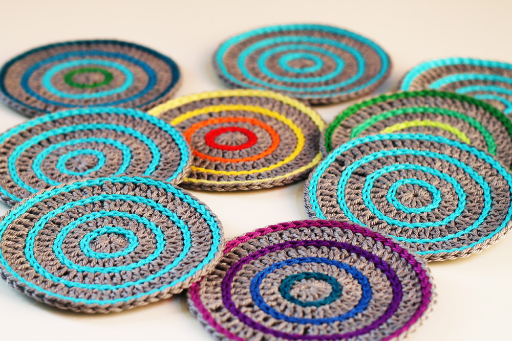 Crochet Coaster Patterns