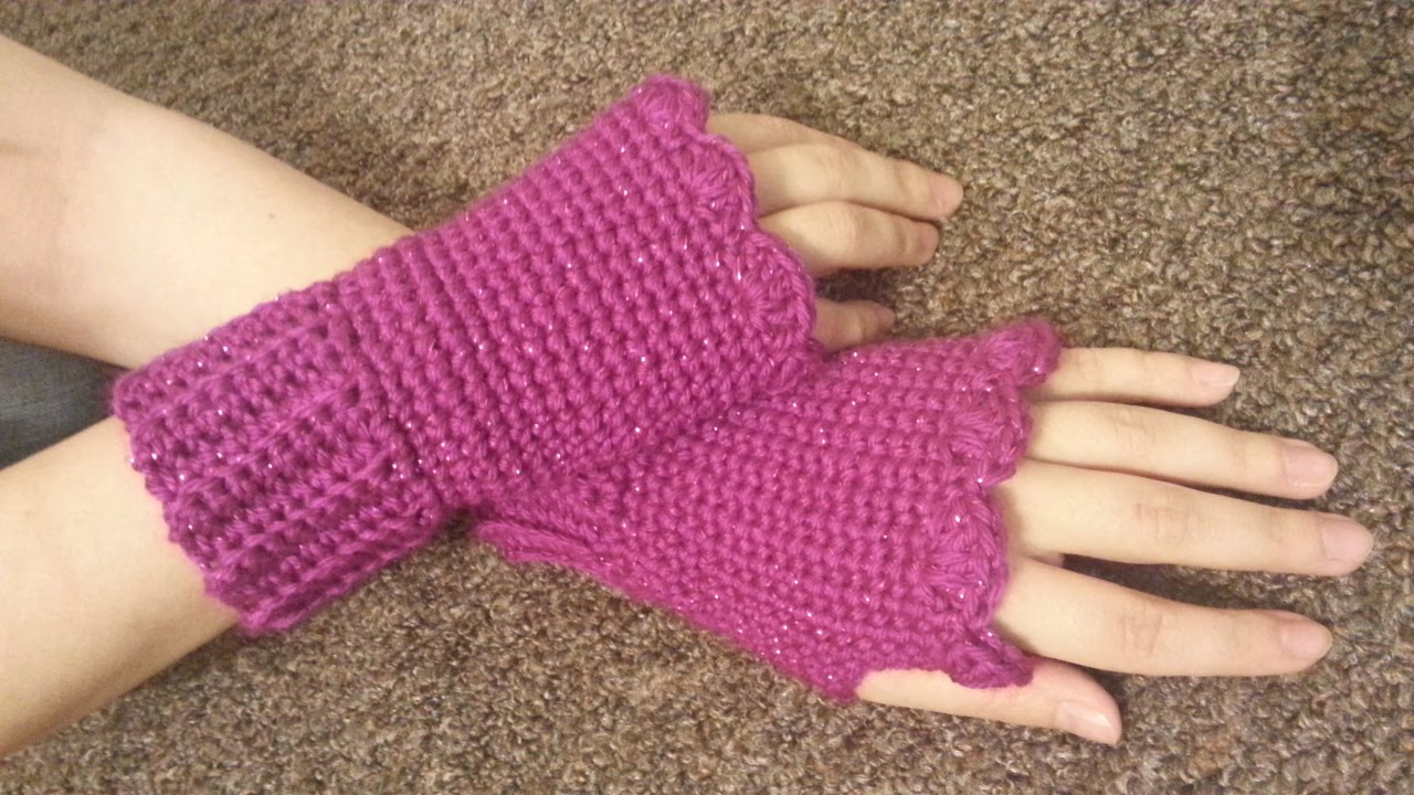 31 easy crochet fingerless gloves patterns tutorials crochet fingerless gloves youtube jeuxipadfo Image collections