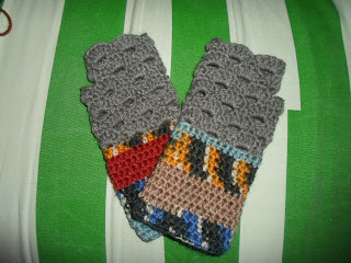 Crochet Fingerless Gloves Designs