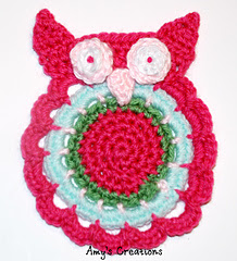 Crochet Owl Coaster Patterns