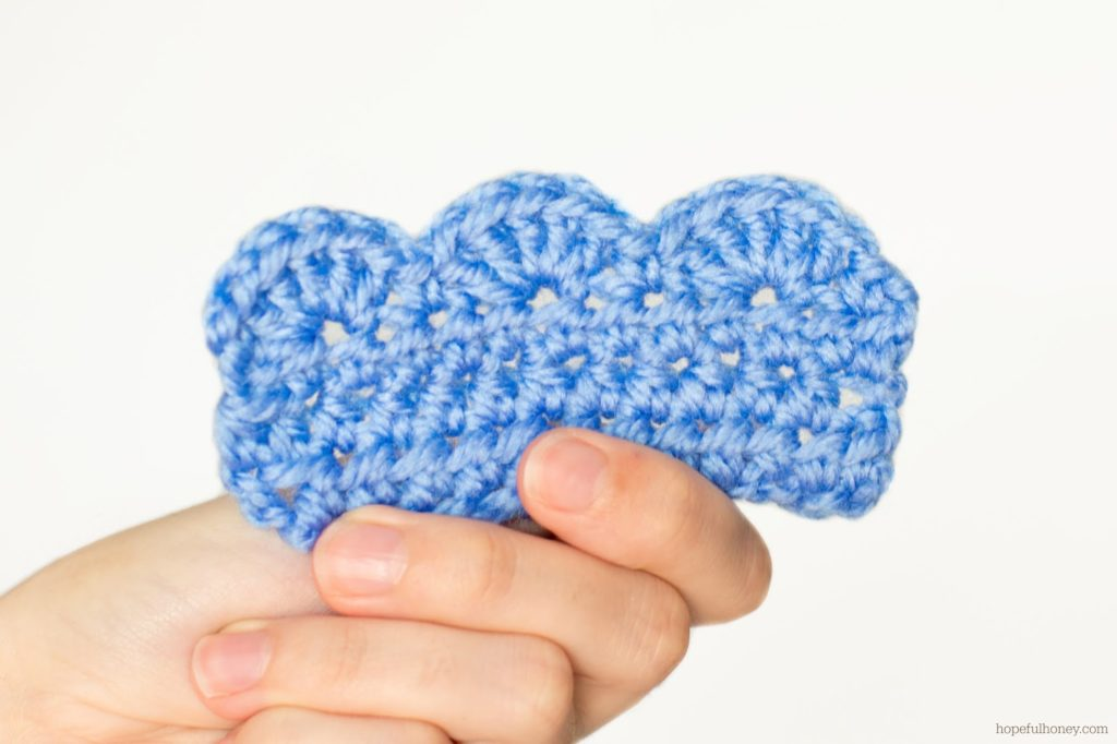 Crochet Scalloped Border Pattern