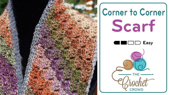 Crochet Scarf Border Pattern