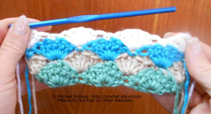 Crochet Shell Border