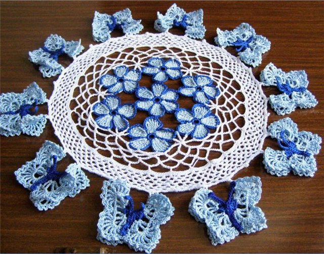 Crocheted Tablecloths