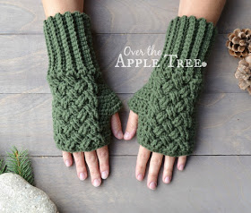 Crocheting Fingerless Gloves