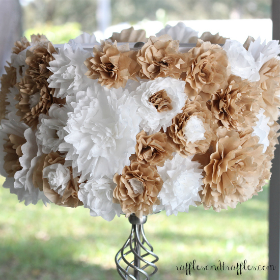 DIY Coffee Filter Roses Crafts