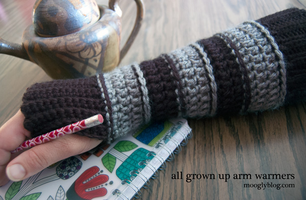 DIY Free Long Fingerless Glove Crochet Pattern