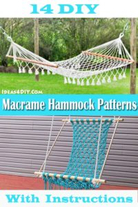 DIY Macrame Hammock Patterns
