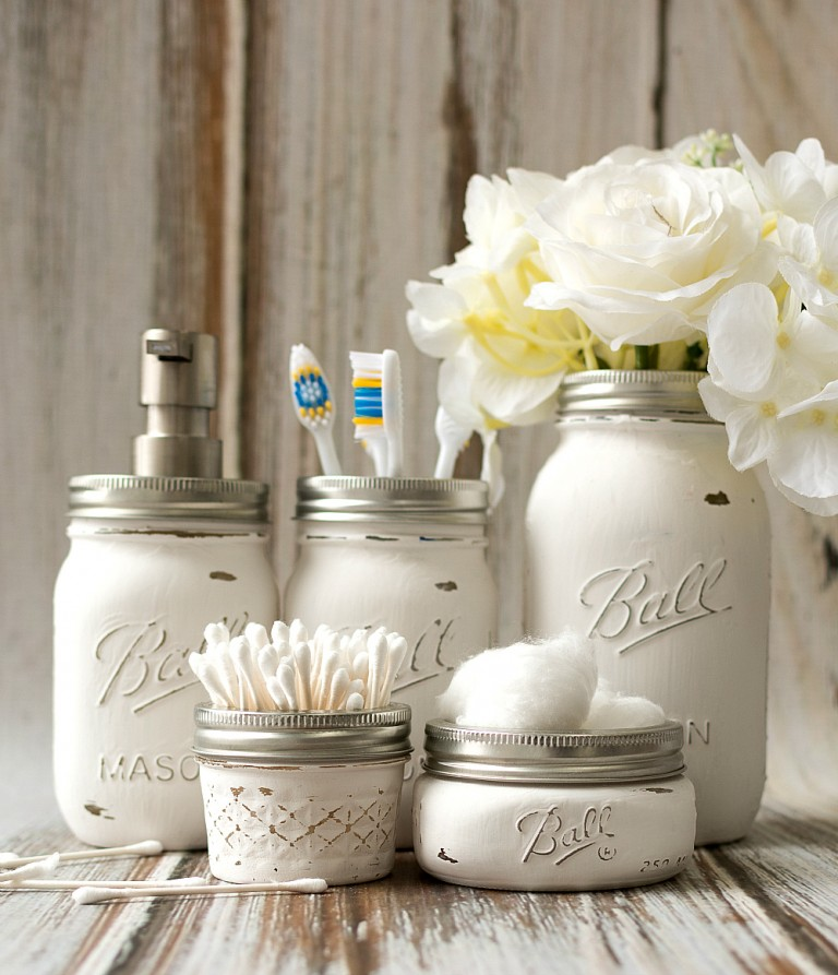 DIY Mason Jar Soap Dispenser Tutorial
