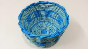 DIY Newspaper Basket Craft Videos