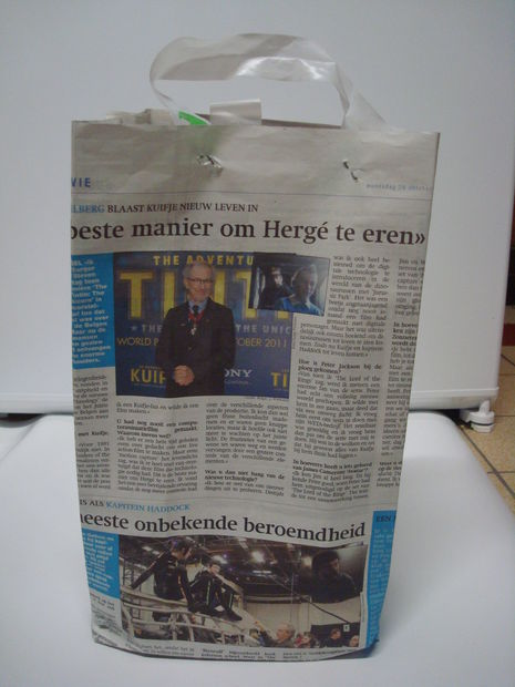 DIY Newspaper Paper Bag IdeasDIY Newspaper Paper Bag Ideas