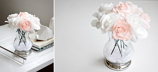 DIY Coffee Filter Flowers Ideas