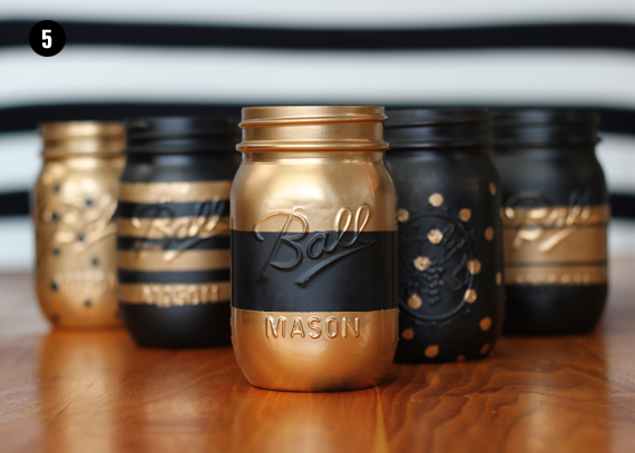 Decorate Mason Jars with Paint