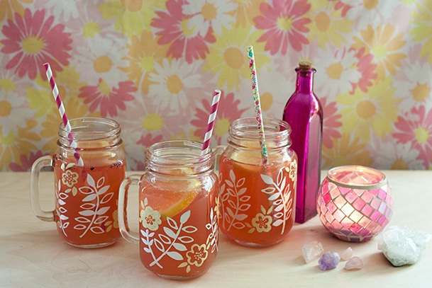 Decorating Mason Jar Mugs