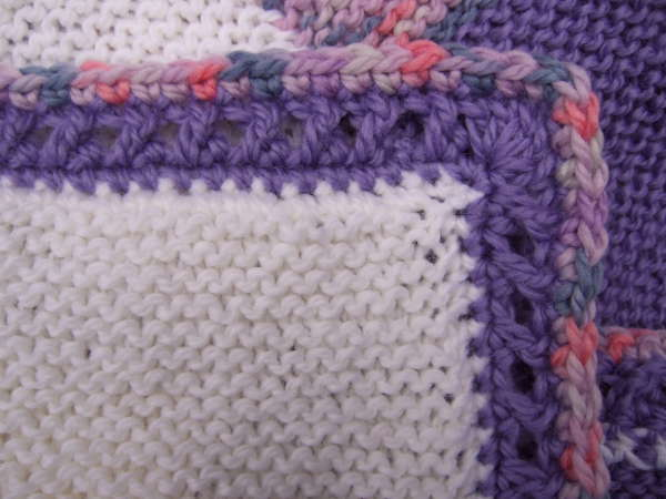 Double Crochet Border Pattern Tutorial
