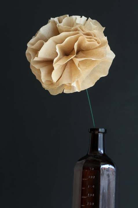 Easy Coffee Filter Flowers DIY