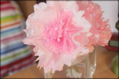 Easy Coffee Filter Flowers