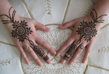 Easy Mehndi Design for Kids
