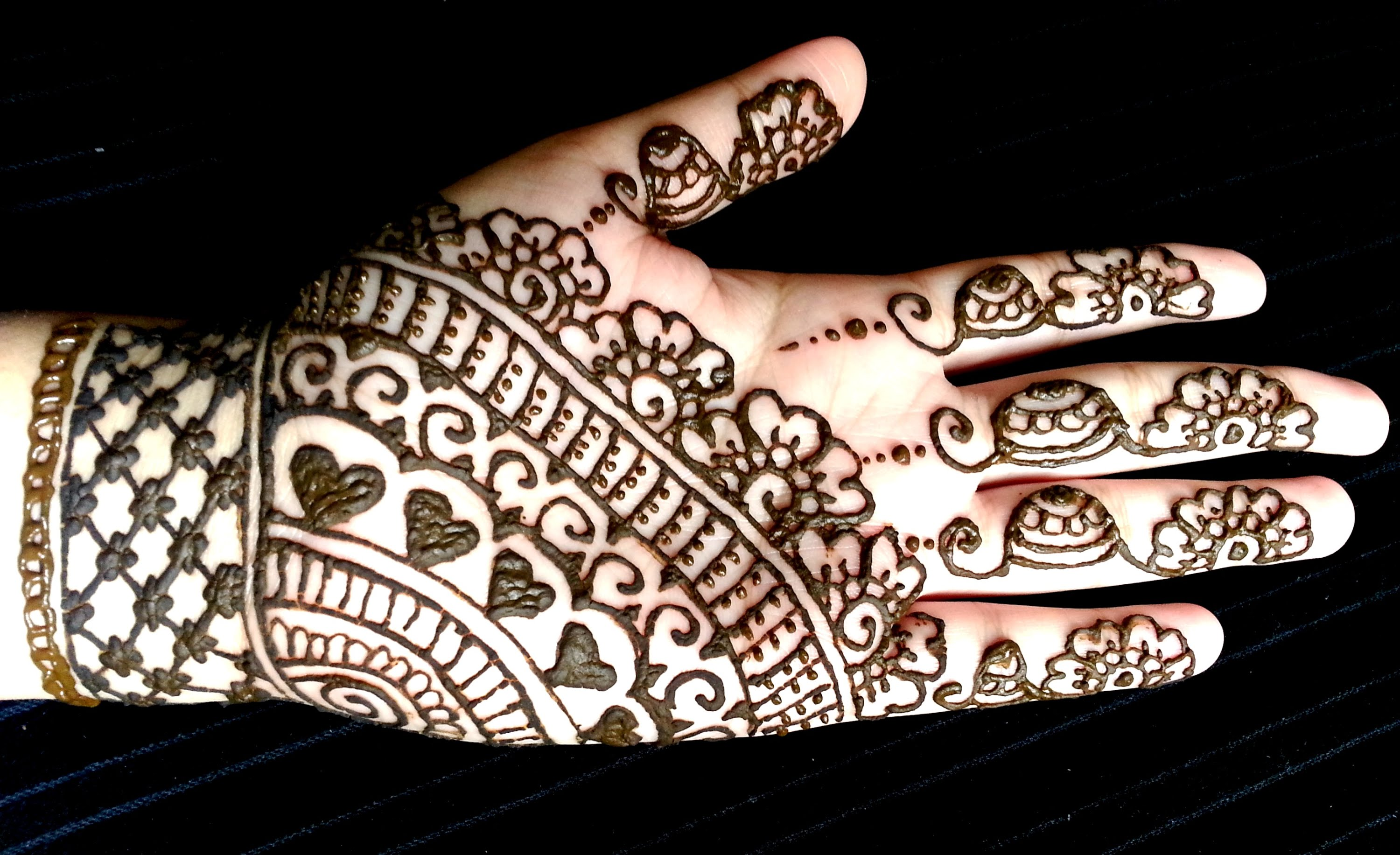 Hand Mehndi Easy Design : Easy simple mehndi designs for kids