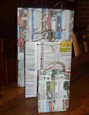 Easy Newspaper Bag Ideas