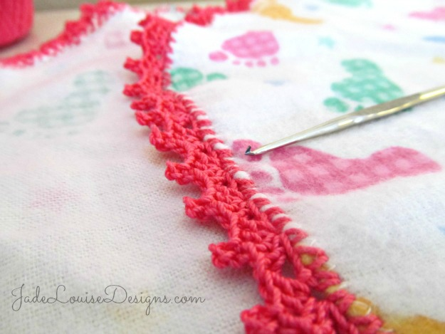 Fancy Crochet Borders