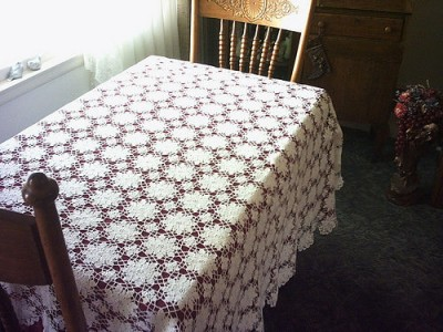Free Crochet Designs for Tablecloth