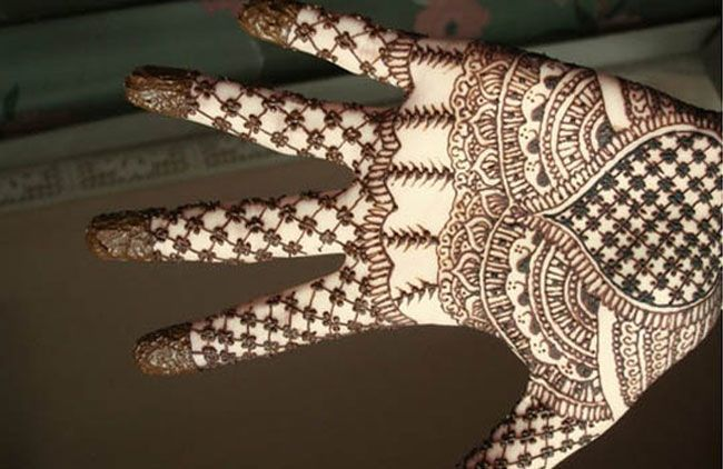 Full Hand Mehendi Designs Kids