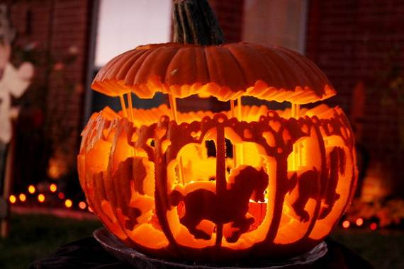 Halloween Pumpkin Painting Designs