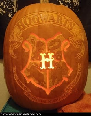 Halloween pumpkin ideas Harry Potter