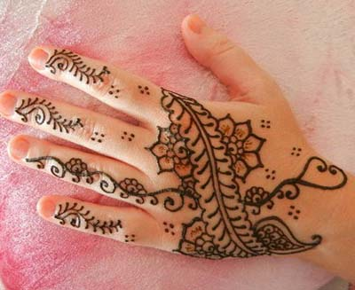 Henna Designs for Kid