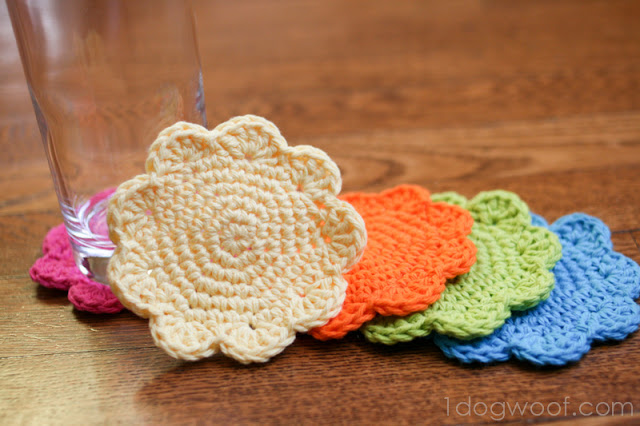How to Crochet Coasters for Beginners