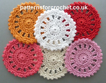 How to Crochet Coasters for Drinks