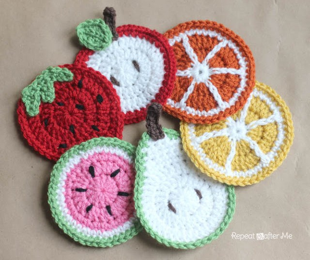 How to Crochet a Circle Coaster