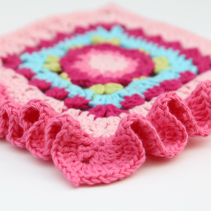How to Crochet a Ruffle Border