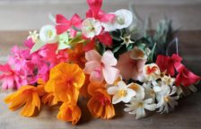How to Make Crepe Paper Flowers Dipped in Wax