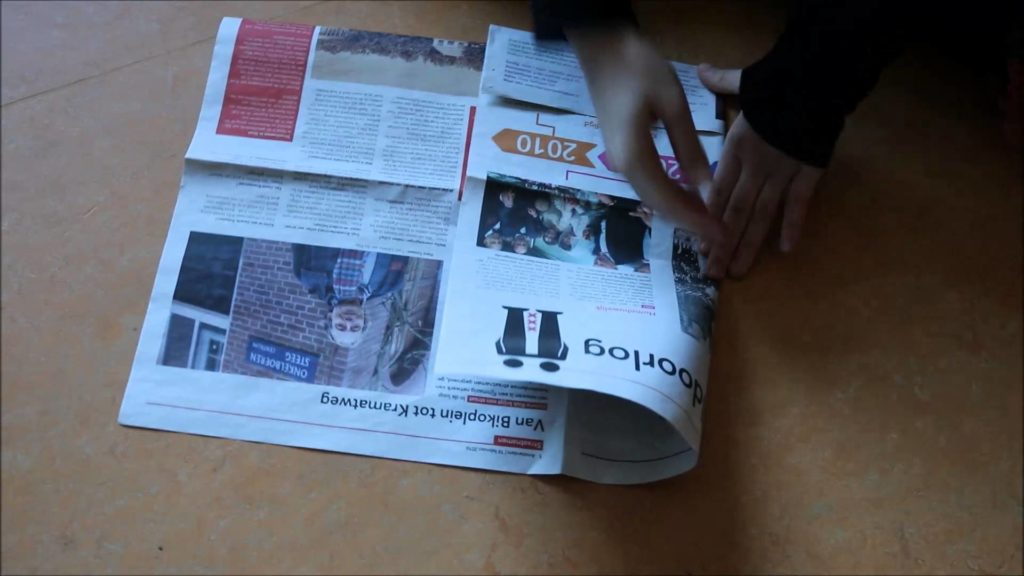 How to Make Newspaper Bags without Glue
